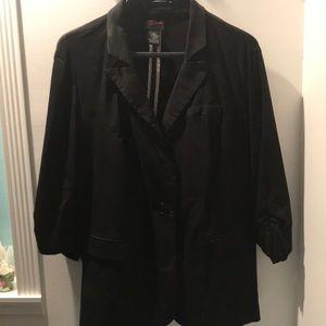 Torrid Size 3 Black Jacket